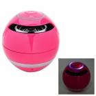 BT800 Wireless Bluetooth Speaker w/ Phone Calling, TF, FM, Micro USB, Video - Deep Pink
