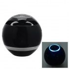 Mini Wireless Bluetooth Subwoofer Speaker w/ Mic. / FM / TF Card Slot - Black