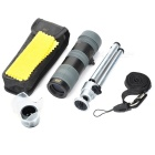 BIJIA 10-30x25 HD High-powered Zooming Pocket Telescope Monocular - Black