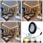 CXHEXIN B6+6 3'' 6W 720lm 24-LED Dimmable Light Ceiling Lamp (85~265V)