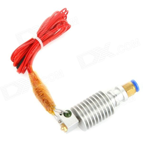 E00304 3D Printer FR4 Long-Distance J-Head Nozzle for Bowden Extruder