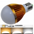 CXHEXIN G27 E27 10W 600lm 20-5630 LED Dimmable Light Lamp Bulb - White + Golden (AC 85~265V)