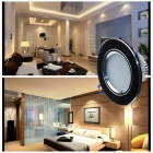 "CXHEXIN 2.5"" B5+5 10W 600lm 20-SMD LED Ceiling Lamp - White + Black"