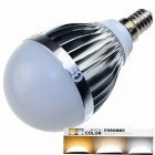 CXHEXIN S14 E14 10W 600lm 20-5630 LED Dimmable Light Lamp Bulb - White + Sliver (AC 85~265V)