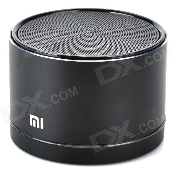 p xiaomi portable usb rechargeable bluetooth v  edr stereo speaker black