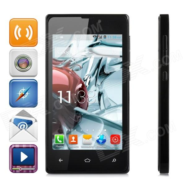 X-980 MT6572 Cortex A7 Dual-Core 1.2GHz Android 4.2 GSM Bar Phone w/ 4.0