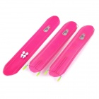 OQsport D-12 Large Ultra Light Reflective Bike Bicycle Mudguard Set - Deep Pink