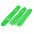 OQsport D-12 Large Ultra Light Reflective Bike Bicycle Mudguard Set - Green