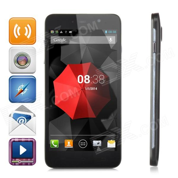 ThL W200C Octa-Core 720P 5.0 IPS Android 4.2 WCDMA Phone w/ OTG, 8GB ROM, GPS - Black ubtel u8 mtk6592 octa core android 4 2 2 wcdma phone w 5 0 ips 13 0mp otg hml 16gb rom black