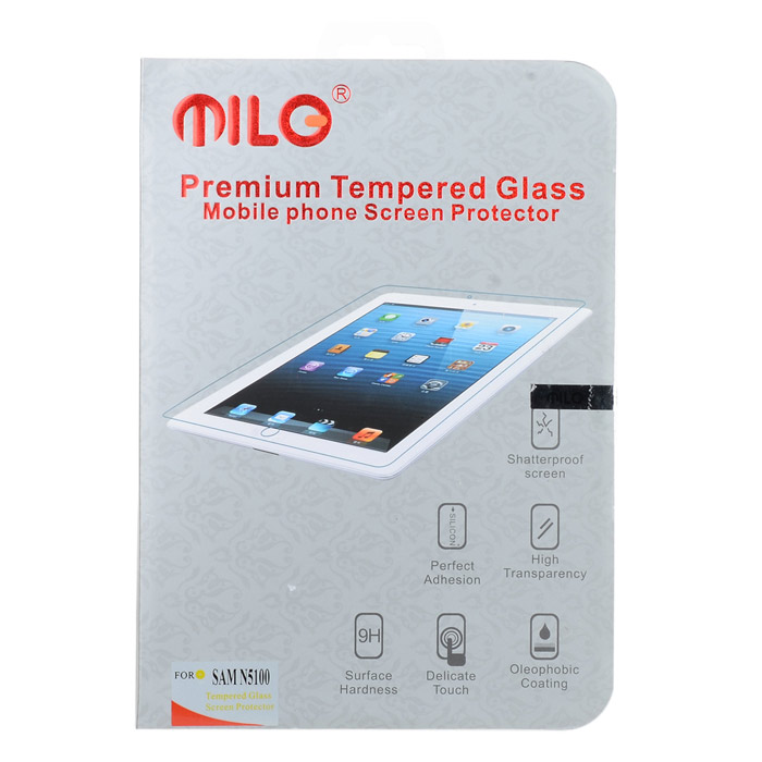 Premium 9H Tempered Glass Clear Screen Protector for Samsung Galaxy Note 8.0 N5100 - Transparent