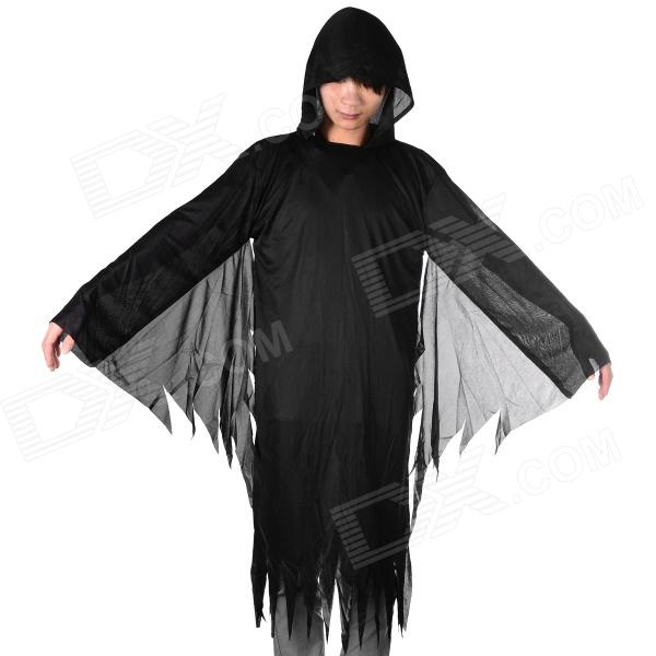 Halloween Cosplay Death Style Costume - Black