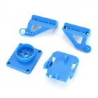 FPV Pan / Tilt Fixing Adapter Set for Arduino - Deep Blue