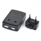 WLtoys V303-016 Power Adapter Set for V303 / V303A / V303B 4-Axis R/C Aircraft Models - Black
