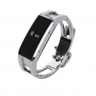 OLED Bluetooth V3.0 Smart Bracelet Watch w/ Anti-lost / Pedometer - Silver