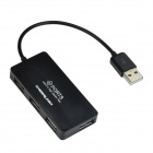 CHEERLINK USB 2.0 4-Port HUB - Black