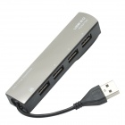 CHEERLINK USB2.0 4-Port High Speed Hub - Black