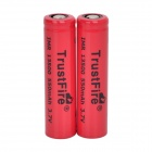 TrustFire haut débit décharge 3.7V 550mAh 5C 13500 Lithium-ion Batteries - rouge (2 PCS)