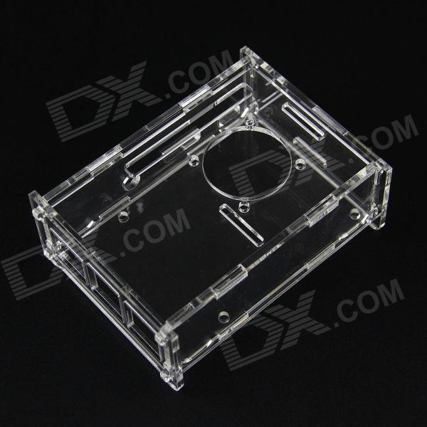 B+ V31 Version Acrylic Case for Raspberry Pi - Transparent