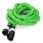 European Standard 25ft Home Garden Flexible Natural Latex Water Pipe - Green