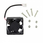 Raspberry Pi B+ V31 Acrylic Case + V31 Cooling Fan - Transparent