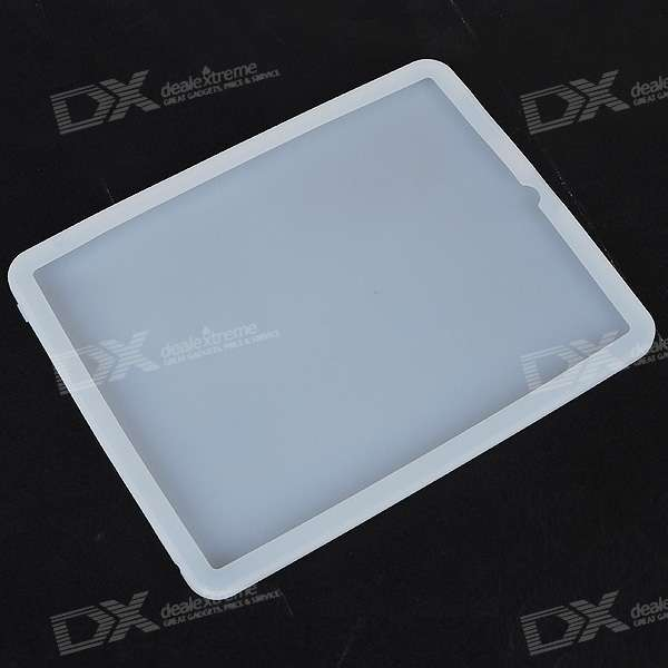 "Protective Silicone Case for   9.7"" Ipad (White)"