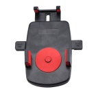 Universal Portable Car Mount Holder w/ Suction Cup for Cellphone / GPS - Black + Red