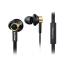 Philips In Ear Headphones with Mic Black TX2BK