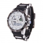 BESNEW BN-0797 Men's Analog + Digital Electronic + Quartz Wrist Watch - Silver + Black