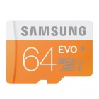 Samsung Electronics 64GB EVO Micro SDXC with Adapter Upto 48MB/s Class 10 Memory Card (MB-MP64DA)