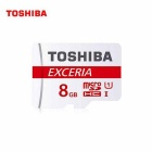 Toshiba Professional 8 GB MicroSDHC Class 10 UHS-1 30MB/s Memory Card (SD-C008GR7WAR30)