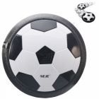 NEJE CH0001-1 Air Power Soccer Disc Multi-Surface Hovering And Gliding Toy - Black + White