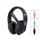 Viken ES400 Wired Stereo Headphones with Microphone - Black (3.5mm)
