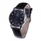 SPEATAC SP9046G Men's Stainless Steel Band Analog Quartz Wrist Watch w/ Calendar - Black (1xLR626)