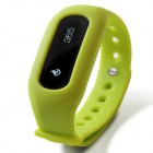 Ibody Intelligent Pedometer Bracelet w/ Motion Record / Sleep Monitor - Green