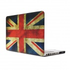 "UK Flag Pattern Protective Full Body Matte Case for MacBook Air 15.4"" - Multicolor"