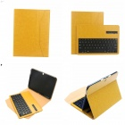 EPGATE Wireless Bluetooth V3.0 Keyboard + Protective PU Leather Case for Samsung T530 - Yellow