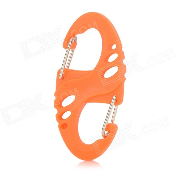 EDCGEAR M414 S-Shaped Carabiner Clip - Orange