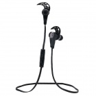 HV805 Sports Wireless Stereo Bluetooth V4.0 In-ear Headphone w/ Microphone - Black