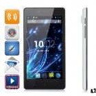"LKD F2 Quad-core Android 4.2.2 WCDMA Bar Phone w/ 5.0"" Screen, Wi-Fi and GPS - White"