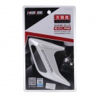 KEIZIK K-F001-6 LED RGB Shark Gill style Solaire Side Vent Voyant - Blanc (paire)