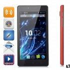 "LKD F2 Quad-core Android 4.2.2 WCDMA Bar Phone w/ 5.0"" Screen, Wi-Fi and GPS - Red"
