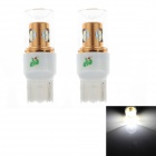 HJ 7440 8W 600lm 6500K 8-SMD 2323 LED Steering / Reversing Lamp Bulb for Car (12-24V, 2PCS)