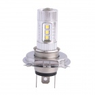 H4 80W 600LM 6500K 12-SMD LED White Light Foglight фар для автомобилей (DC12-24V)