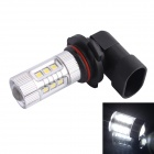 9006 / HB4 80W 600LM 6500K 12-Samsung SMD LED White Light Foglight Headlamp for Car (DC12-24V)