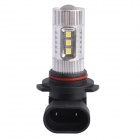9006 / HB4 80W 600LM 6500K 12-SMD LED White Light Foglight Headlamp for Car (DC12-24V)