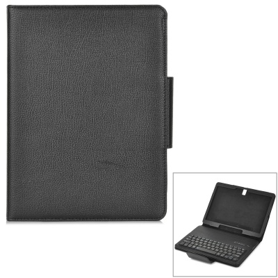 Detachable 64-Key Bluetooth Keyboard Case w/ Shutter Button for Samsung TAB S T800 / 805 10.5