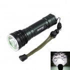 KINFIRE KF-11 CREE XM- L2 LED 580lm 5-mode White Light Flashlight - Black (1 x 18650 / 26650)