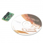 Mini PCI-Express SATA 3.0 Expansion Controller Card - Black + Green