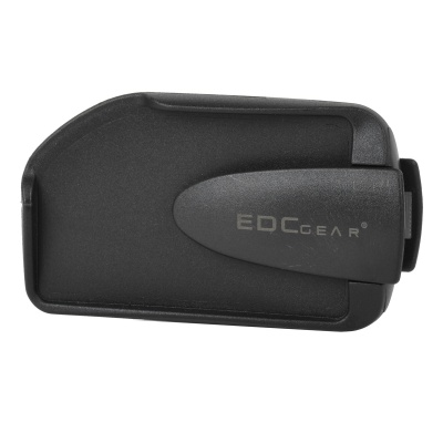 EDCGEAR Double Sides ABS Money Card Holder w/ Clip for Mountaineering / Traveling - Black
