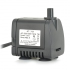 AT-707 7W Pet Fish Tank Submersible Pump - Black (EU Plug / 220~240V)